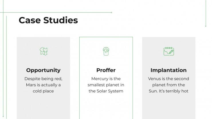 Green Agency presentation template