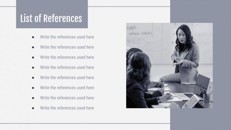 Snow Business Meeting presentation template