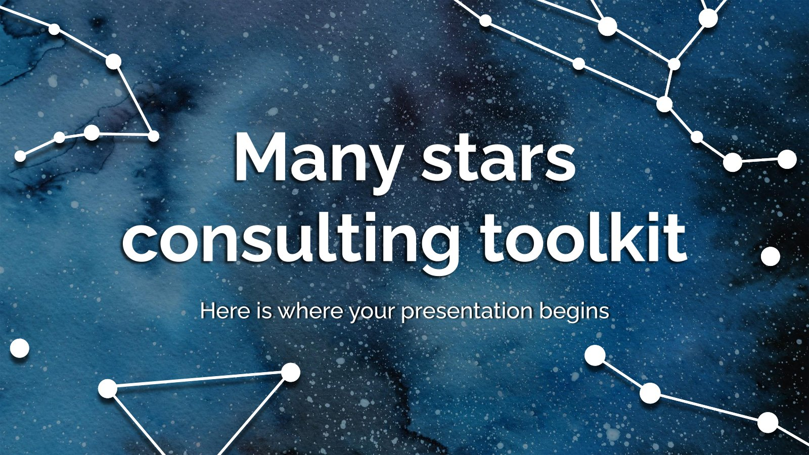 Modelo de apresentação Ferramentas de consultoria
