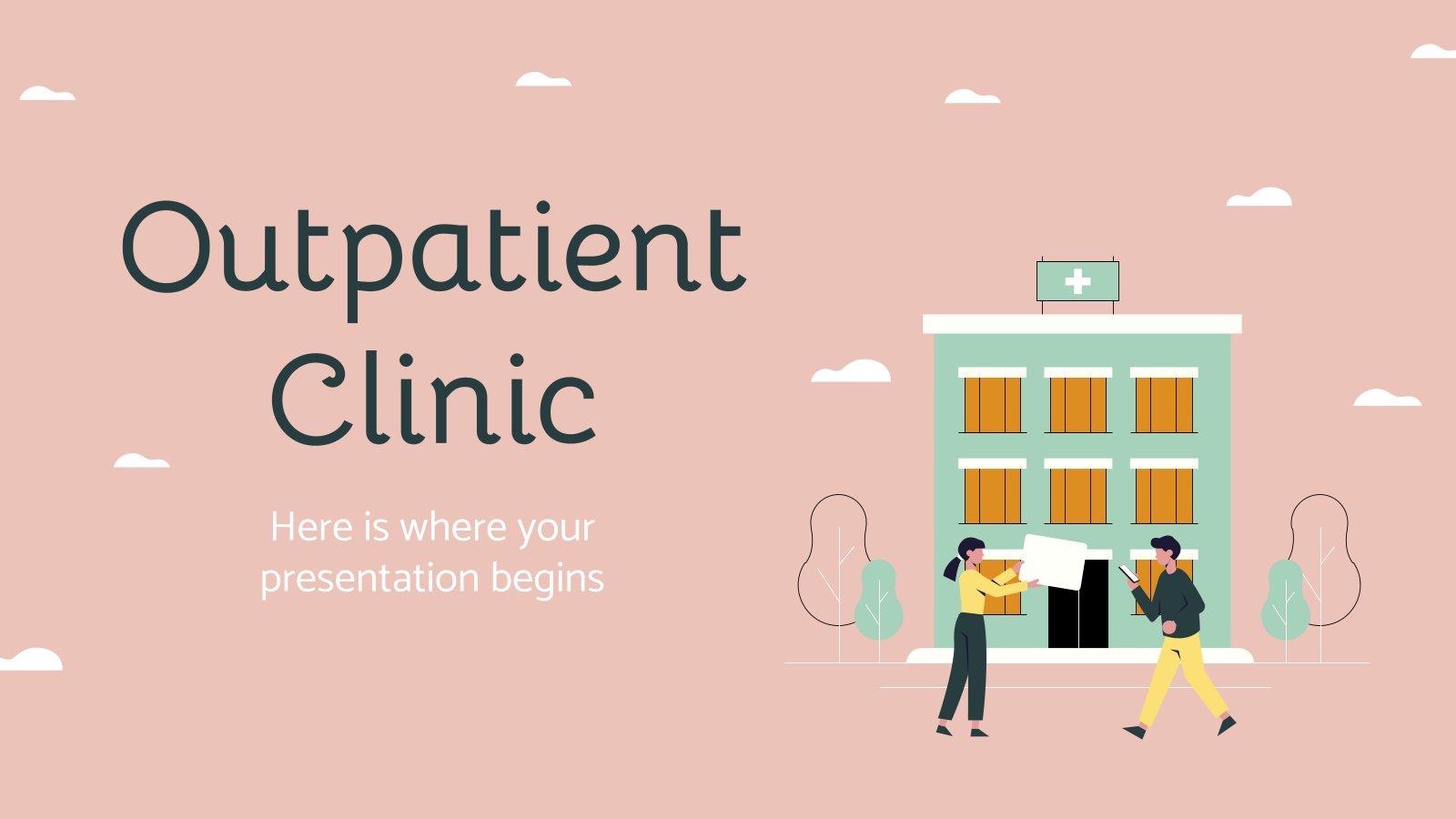 Outpatient Clinic presentation template