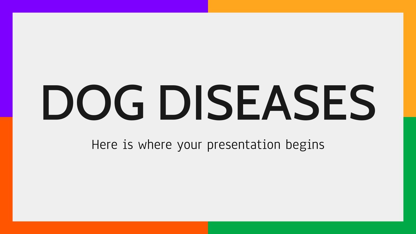 Plantilla de presentación Enfermedades caninas