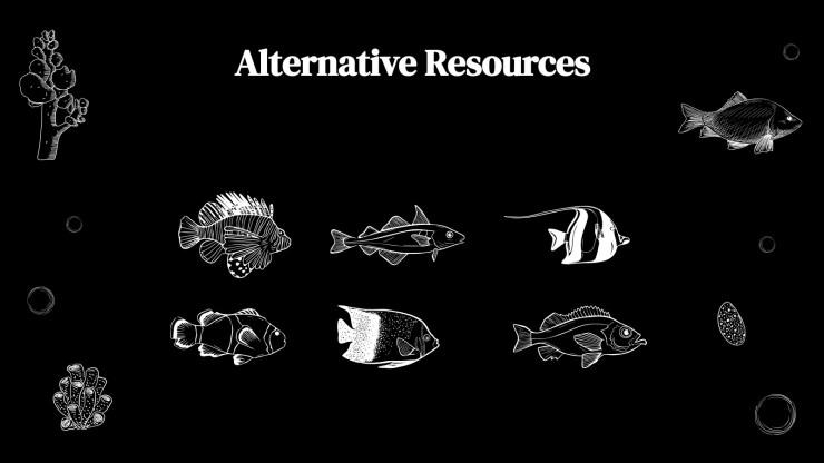 Fish Company Profile presentation template