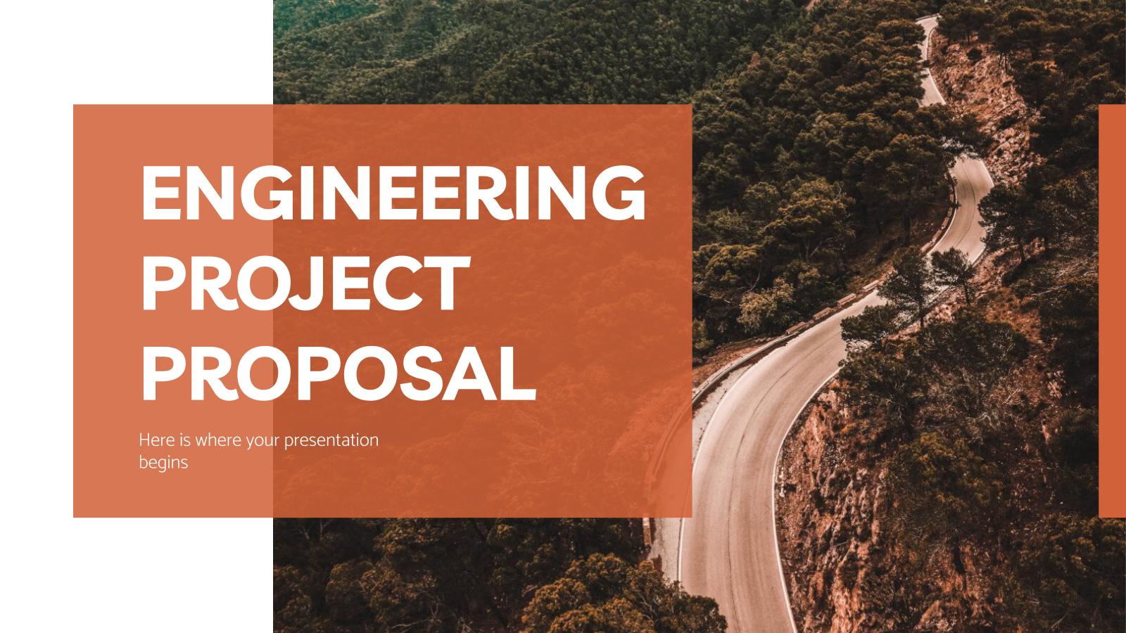 Plantilla de presentación Propuesta de proyecto de ingeniería