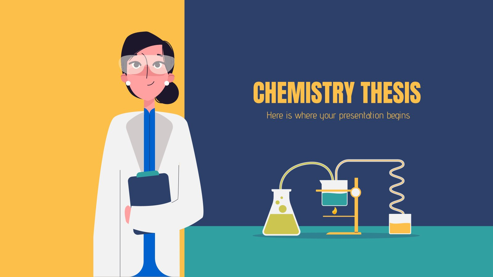 Mémoire de chimie : Modèles de présentation