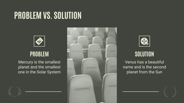Plan d'affaires pour un cinéma : Modèles de présentation