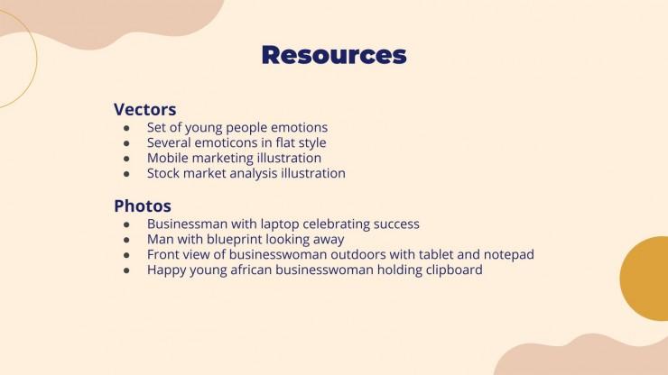 Plantilla de presentación Propuesta de desarrollo de producto