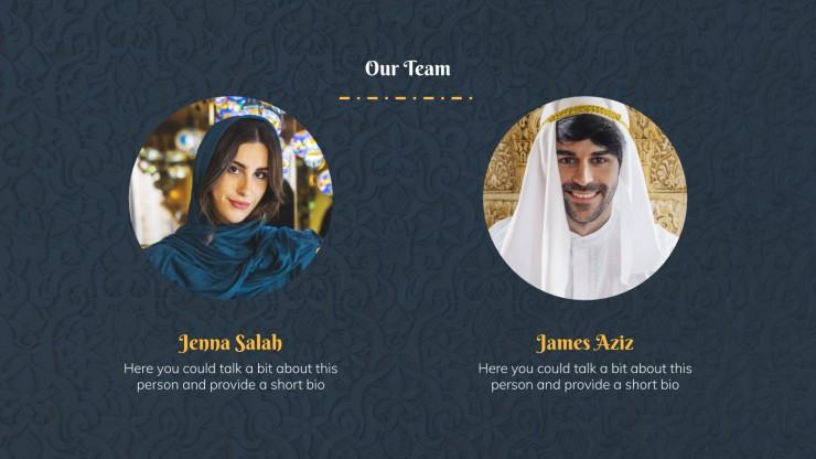 Ramadan Mubarak : Modèles de présentation