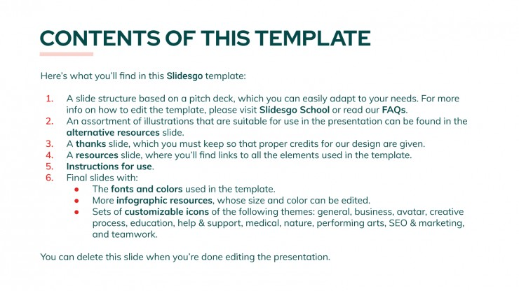 Home Rental App Pitch Deck presentation template