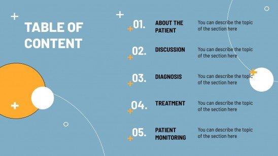 Plantilla de presentación Caso clínico de urología