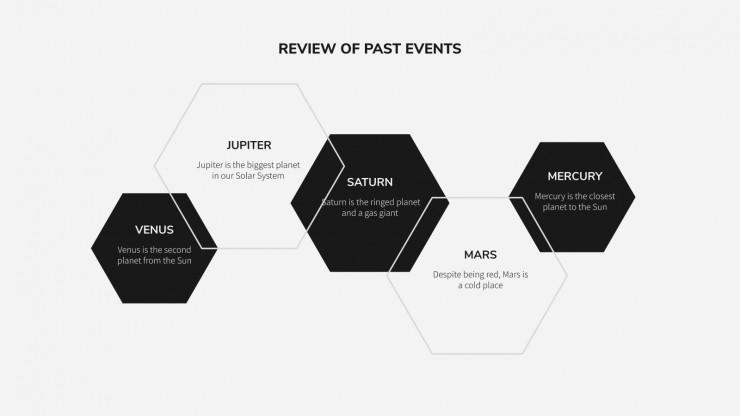 Networking Newsletter presentation template