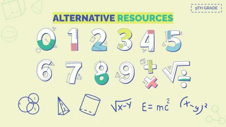 Mathematics Subject for High School - 9th Grade: Algebra II presentation template