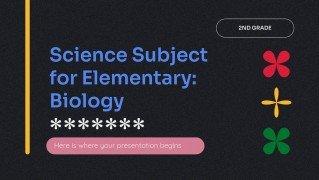Modelo de apresentação Ciência para o ensino básico: Biologia