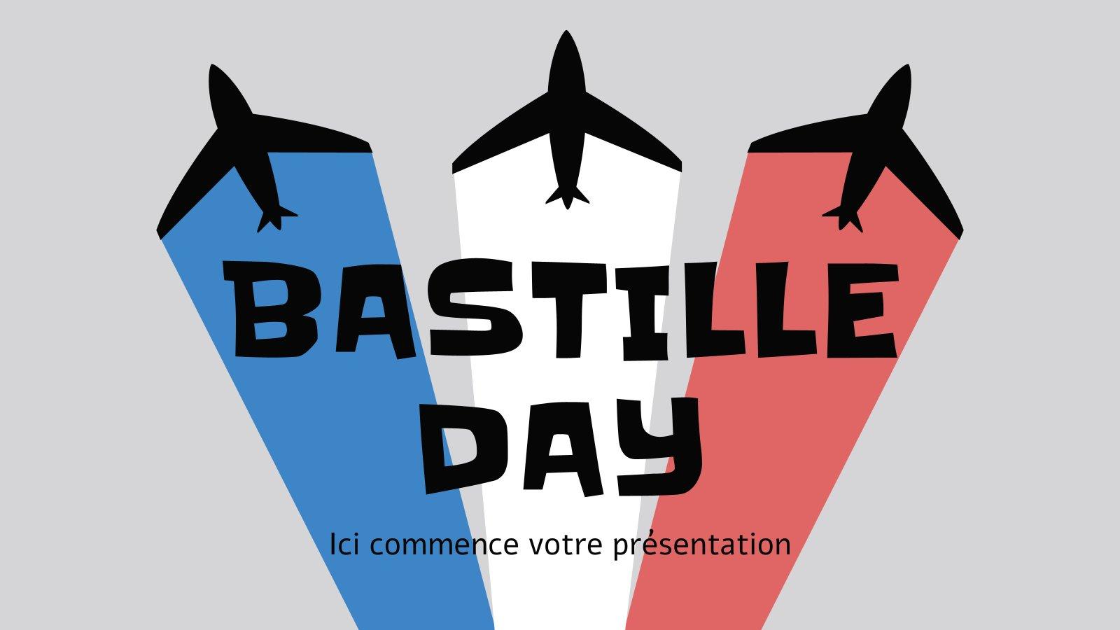 Bastille Day presentation template