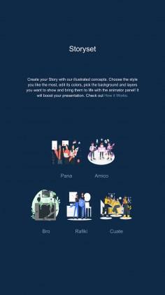 Inspirational IG Stories for Marketing presentation template