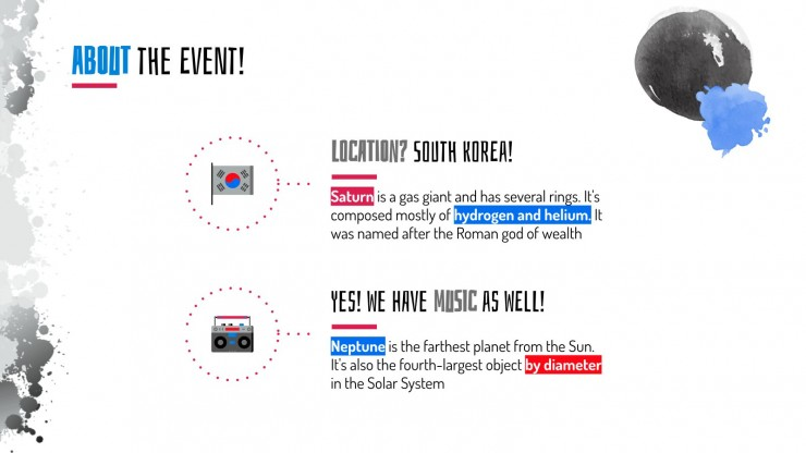 Boryeong Mud Festival presentation template