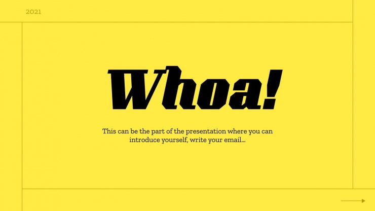 The Best Thing Ever MK Plan presentation template