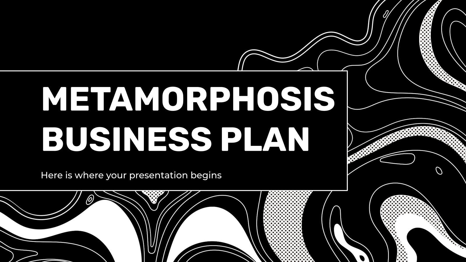 Metamorphose Business Plan Präsentationsvorlage