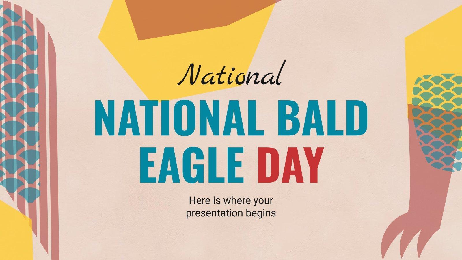 National Bald Eagle Day presentation template