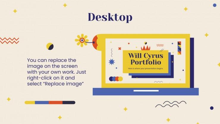 Tuscany Portfolio presentation template
