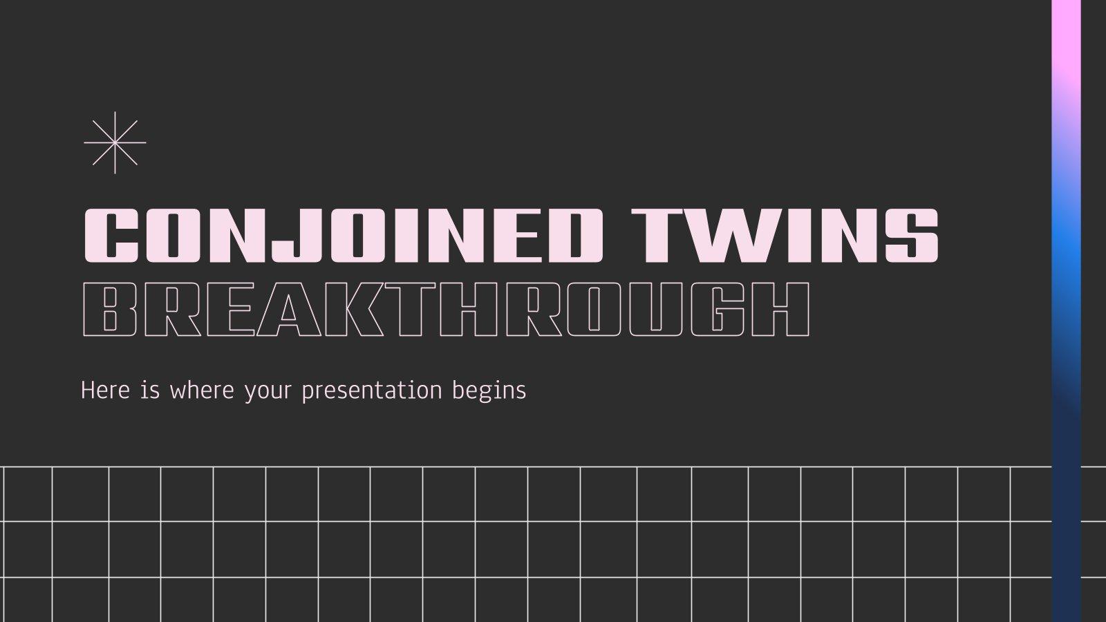 Modelo de apresentação Avanços sobre os gêmeos conjugados