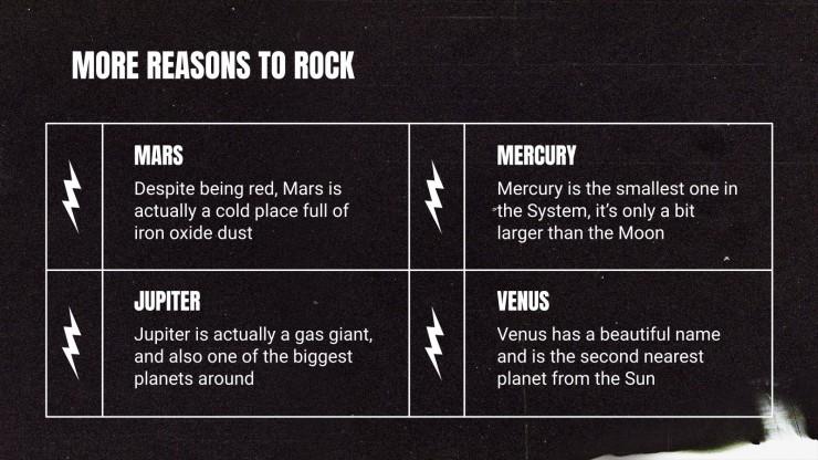 International Rock Day lml presentation template
