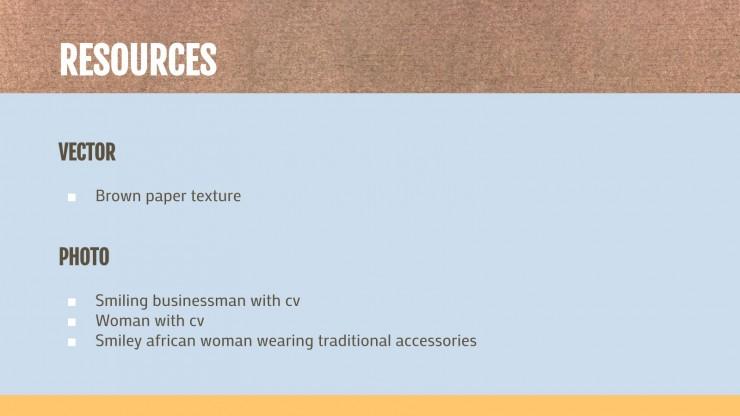 CV modifiable avec des couleurs : Modèles de présentation