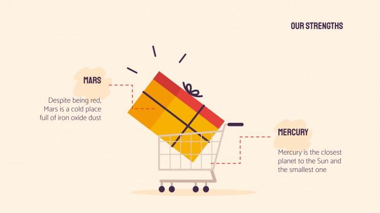 Shopping Mall presentation template