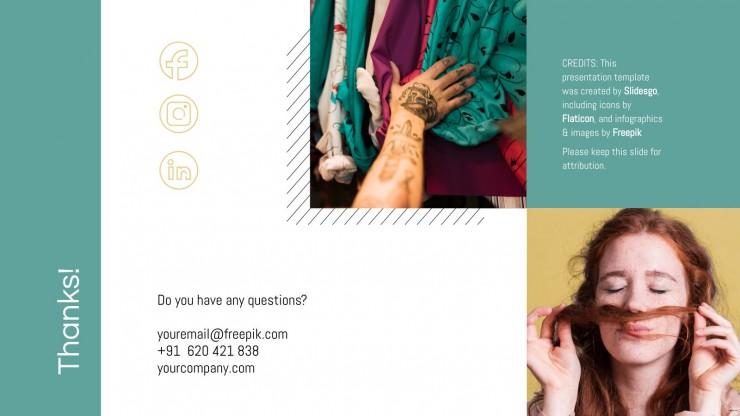 Vintage Fashion Brand presentation template