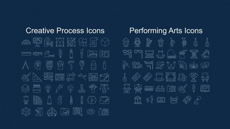 Graphic Design Marketing Plan presentation template