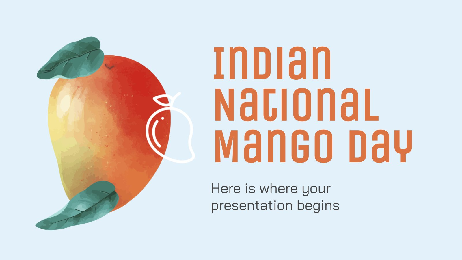 Journée nationale de la mangue : Modèles de présentation
