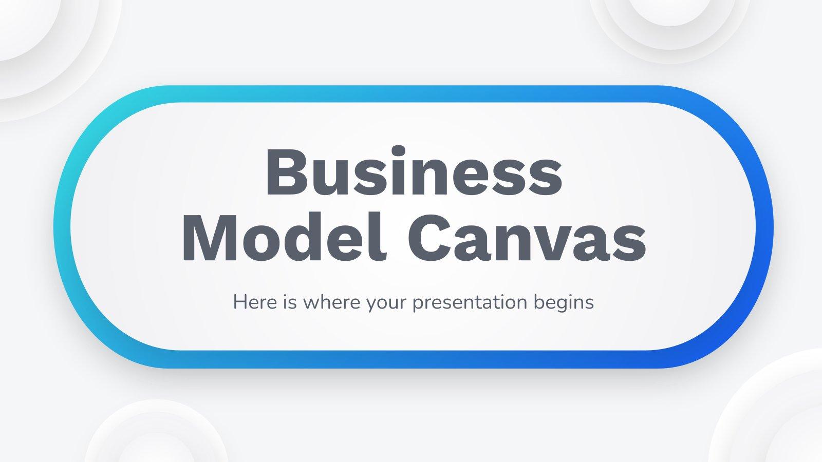 Modelo de apresentação Modelos de negócios