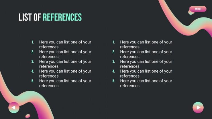 First Semester Lesson Plan presentation template