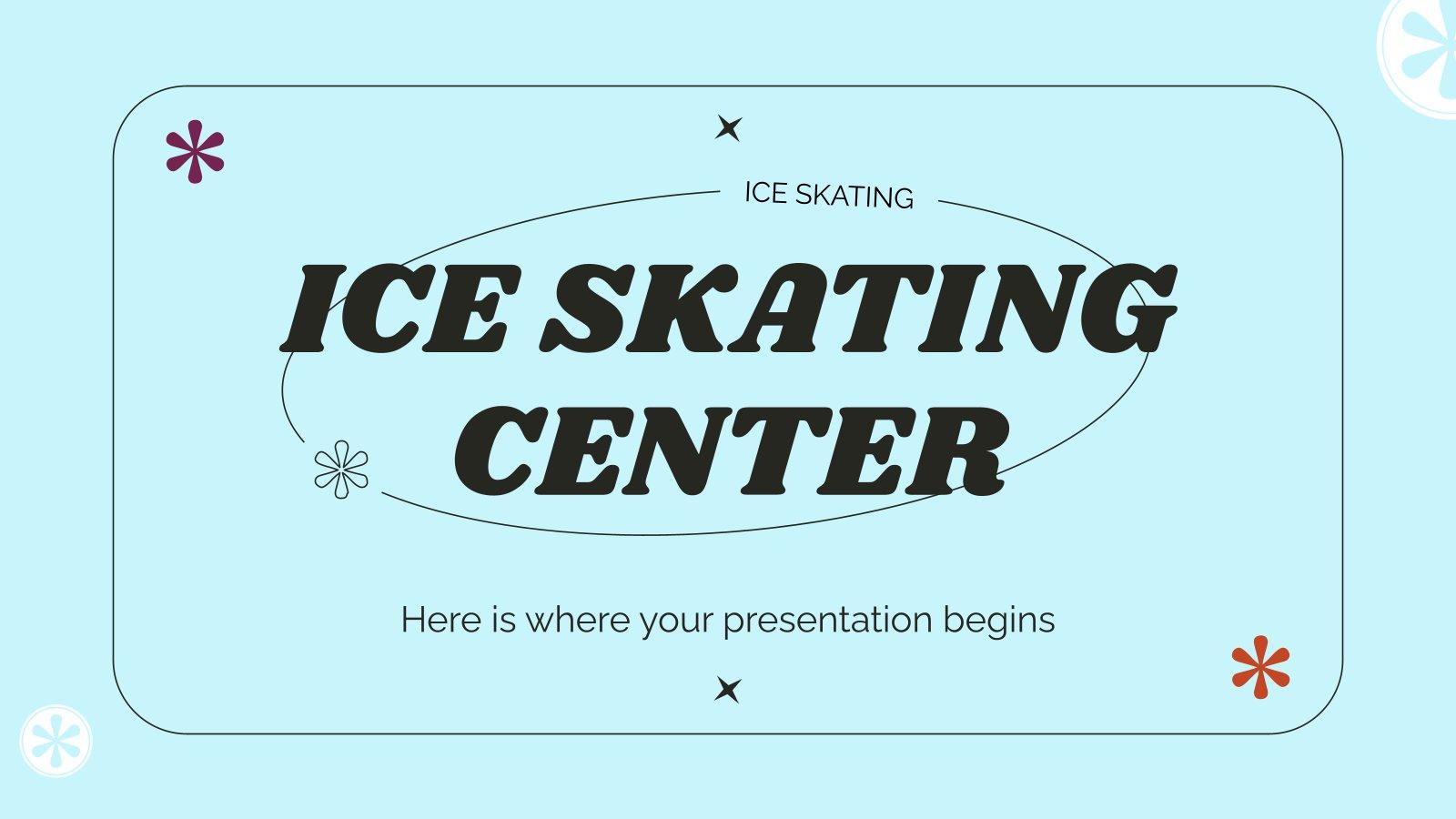Centre de patinage sur glace : Modèles de présentation