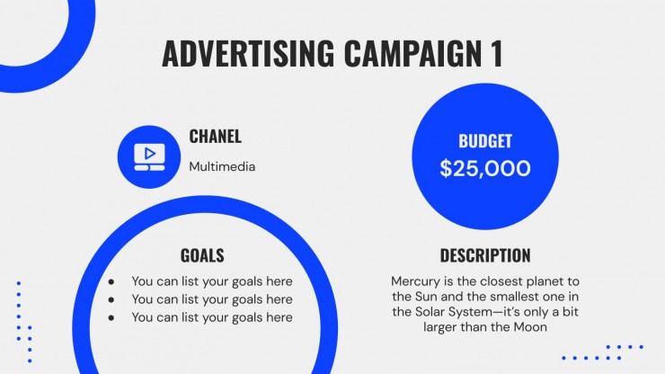 Campaign Planning Tools presentation template