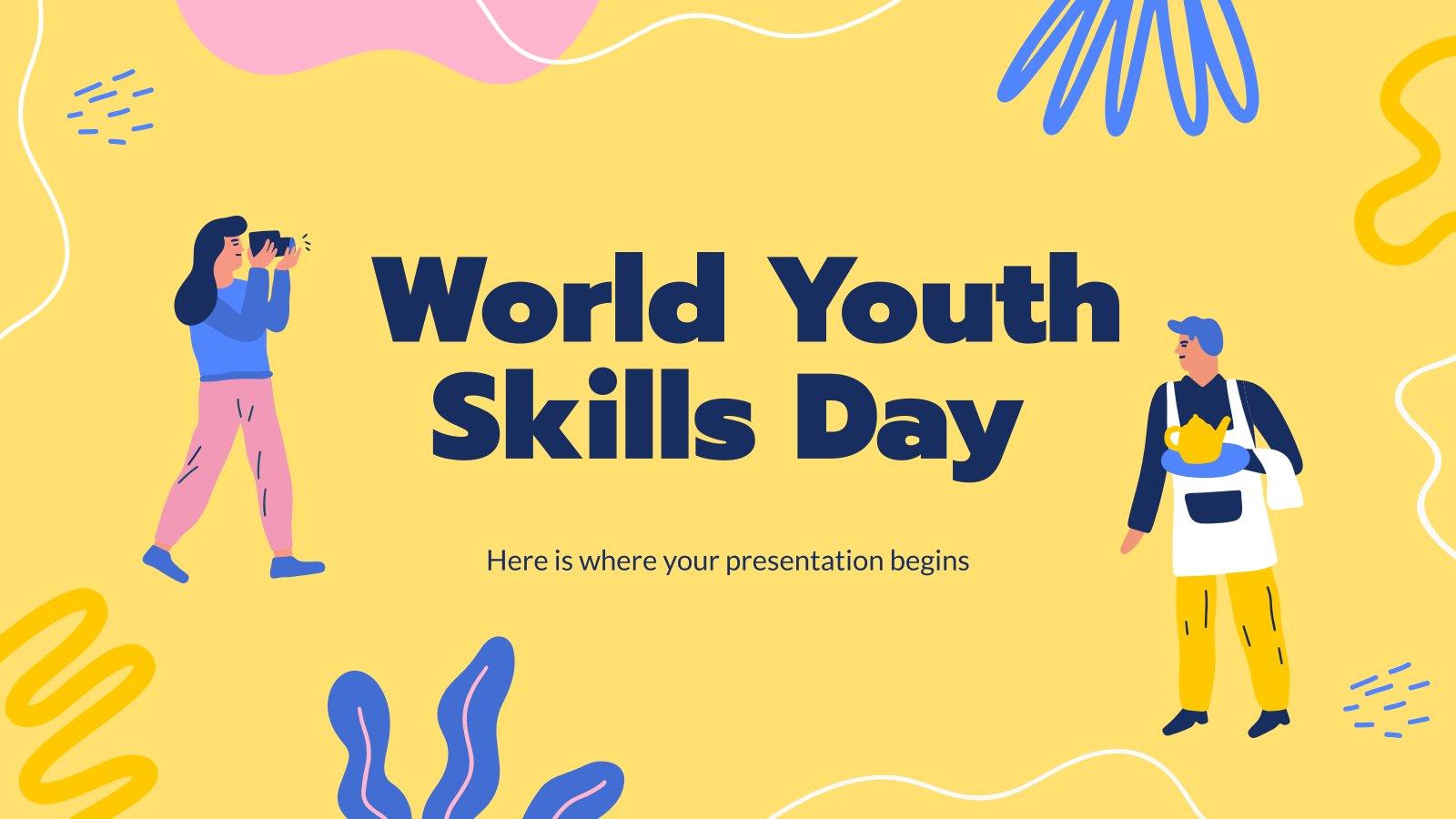 Journée mondiale des compétences des jeunes : Modèles de présentation