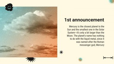 Summer Is Overrated Newsletter presentation template