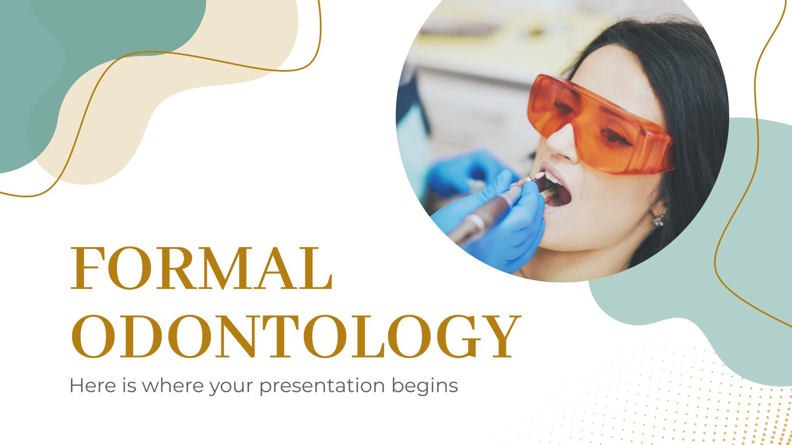 Formal Odontology presentation template