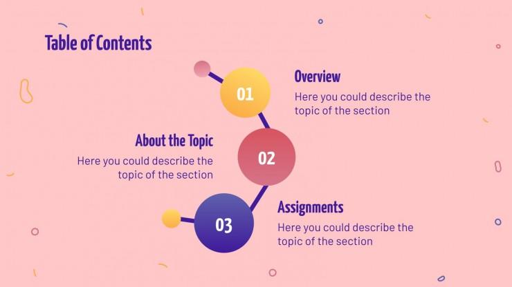 Chemistry Science Lesson presentation template
