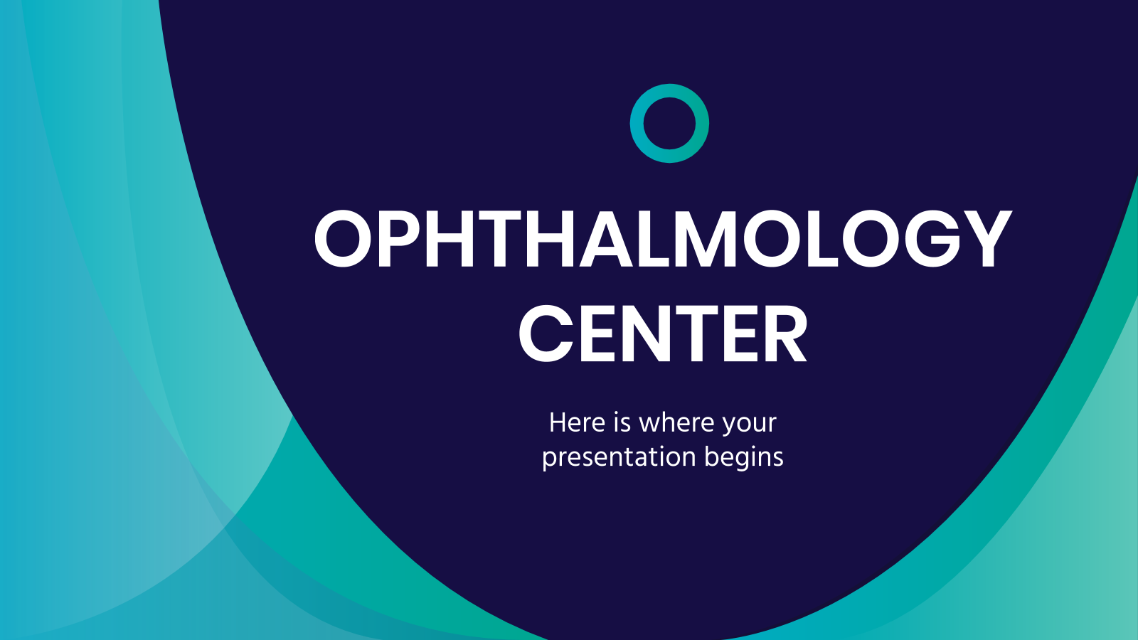 Ophthalmology Center presentation template