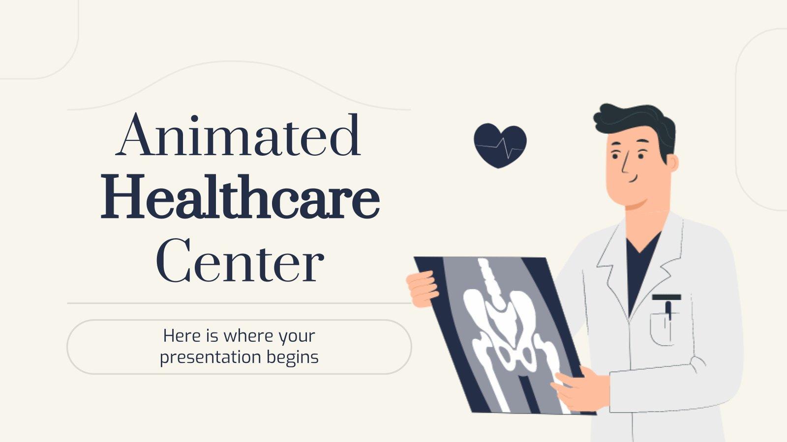 Animated Healthcare Center presentation template