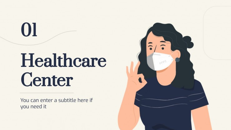 Centre médical avec animations : Modèles de présentation