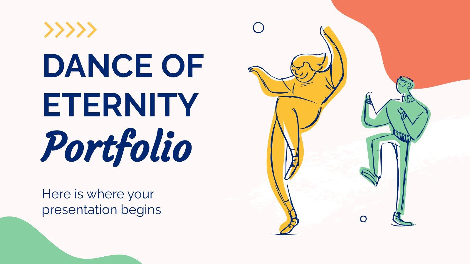Dance of Eternity Portfolio presentation template
