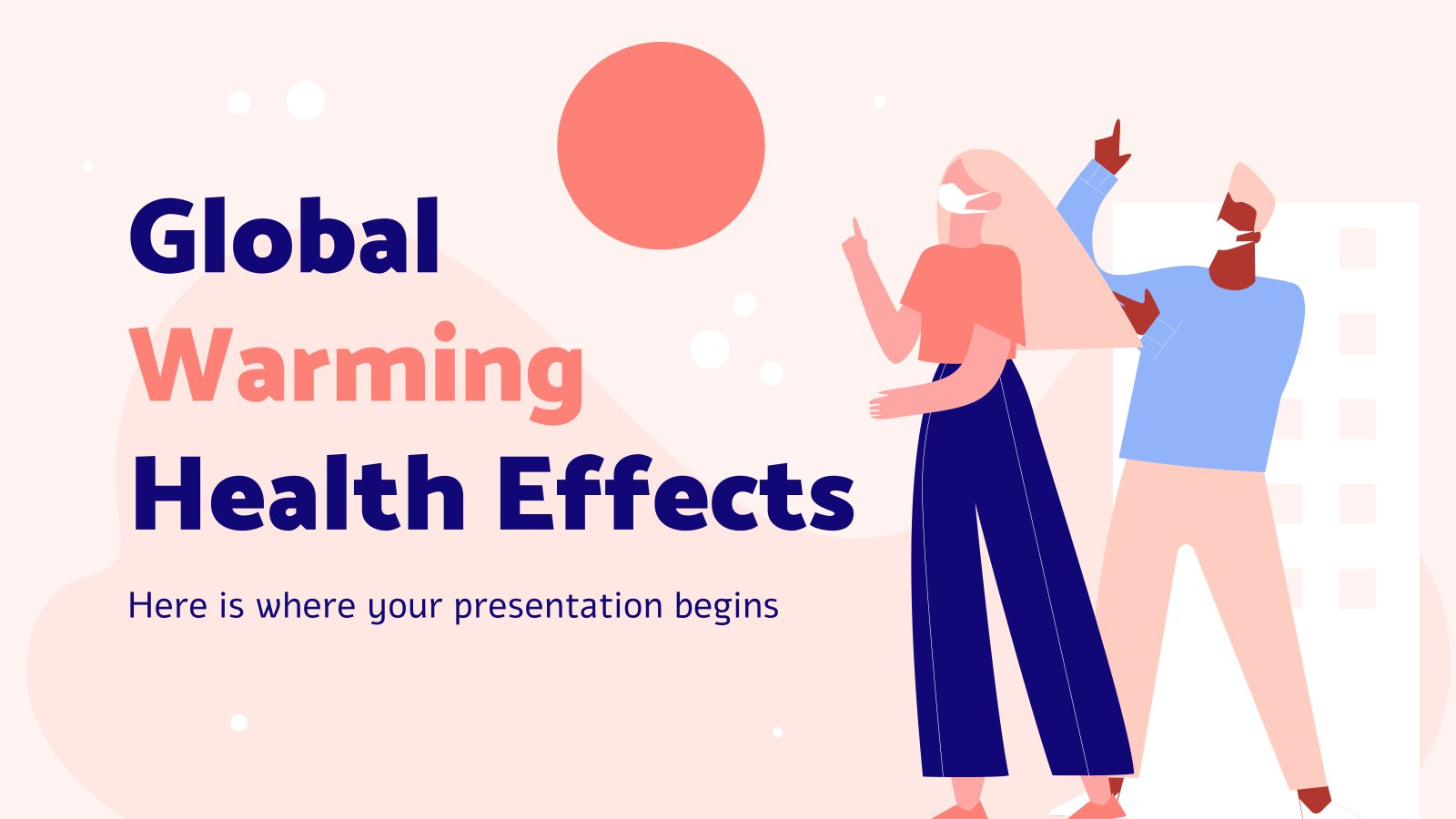 Global Warming Health Effects presentation template