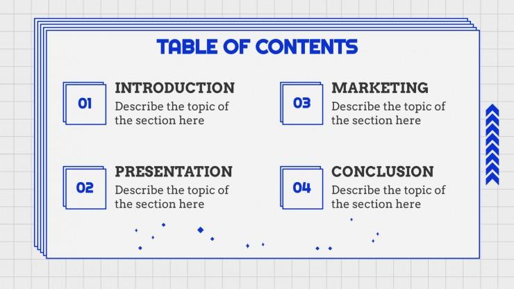 Waurum Trill Slides for Business presentation template