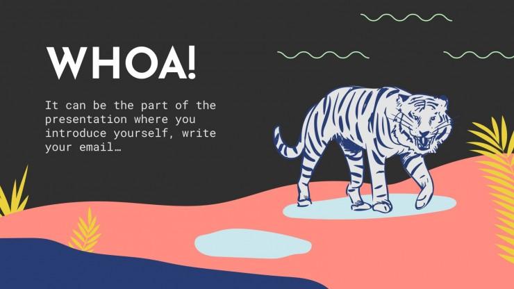 International Tiger Day presentation template