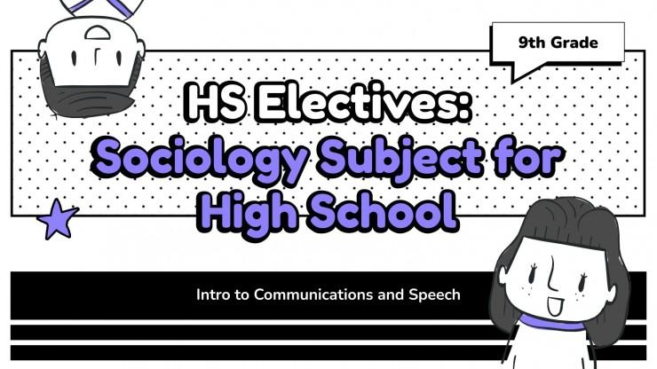 Modelo de apresentação Sociologia para o ensino médio