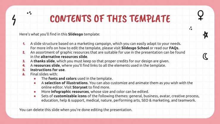 Girl Power Campaign presentation template