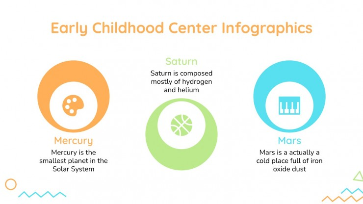 Infographies du centre de la petite enfance : Modèles de présentation