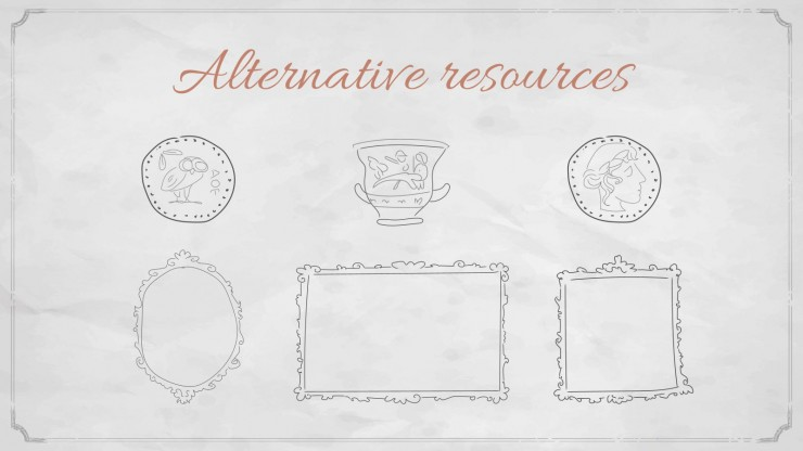 HS Electives: Sociology Subject for High School - 9th Grade: Art History presentation template