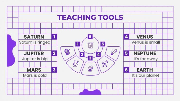 Online Summer School Curriculum presentation template